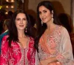 katrina kaif with her sister