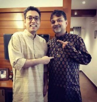 Anupam Roy with Srijit Mukherji