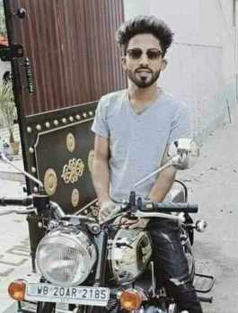 Arman Alif with bike Picture