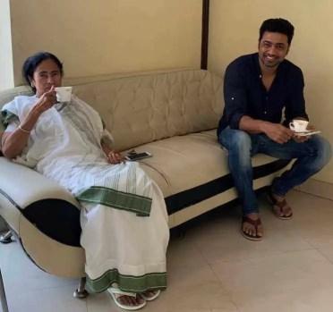 Dev with Mamata Banerjee