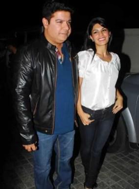Jacqueline Fernandez with Sajid Khan