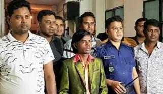 Hero Alom at Arrest Police