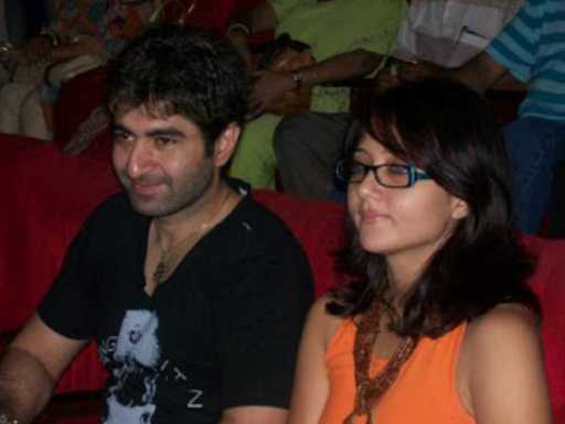 Jeet with Swastika Mukherjee