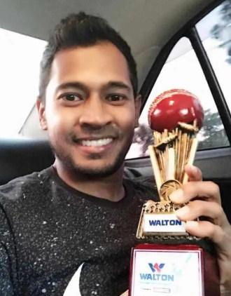 Musfipur Rahim Man Of the match Award Image