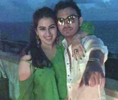 Sara Ali Khan with Veer Pahariya