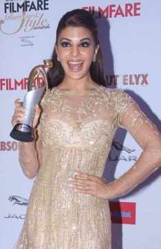 Jacqueline Fernandez Award Photo
