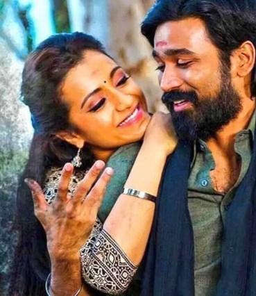 Trisha Krishnan with Dhanush