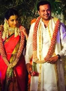 Trisha Krishnan with Varun Manian Picture