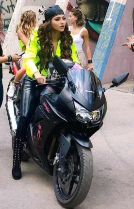 Urvashi Rautela at Bike Riders