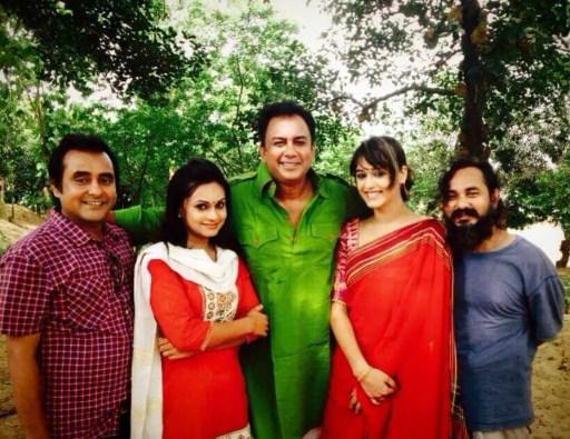 Ahona Rahman With Co-Artist