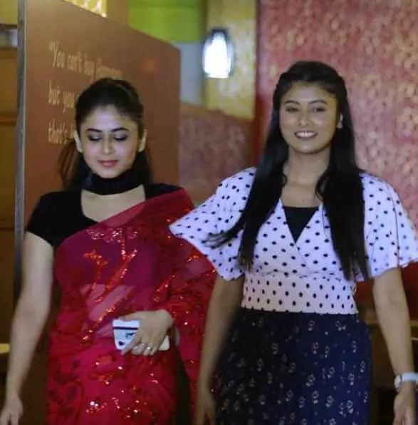 Faria Shahrin with Mumtaheena Toya