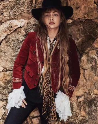 Gigi Hadid fashion Photo