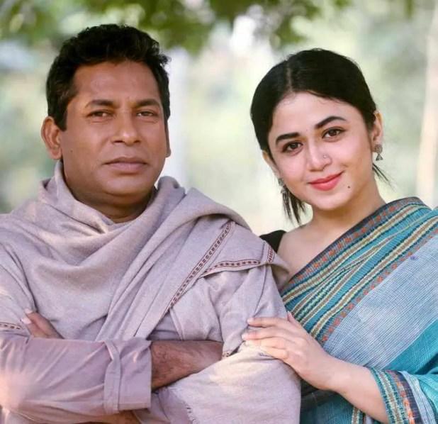 Faria Shahrin with Mosharraf Karim