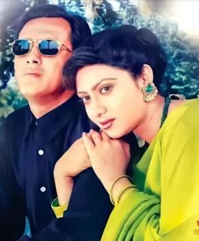 Shabnur with Salman Shah