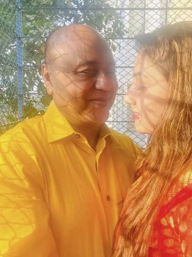 Tom Imam wife romantic photo 1