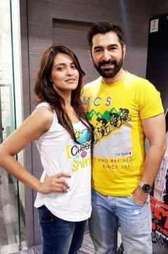 Priyanka Sarkar with Jeet