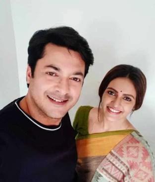 Priyanka Sarkar with Jisshu Sengupta