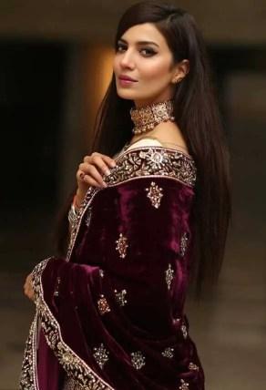 Rabia Butt Saree Photo
