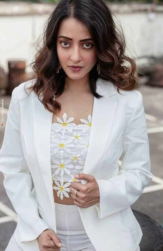 Raima Sen White Dress Image
