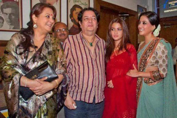 Raima Sin with her Family