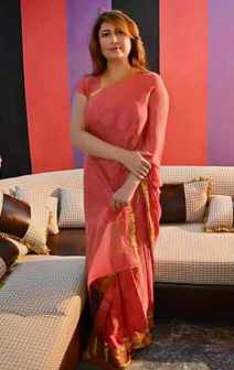 Saima Noor Saree Image