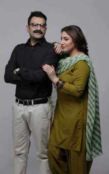 Saima Noor with Sultan Rahi