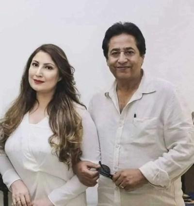 Saima Noor with Syed Noor