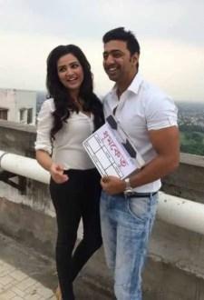 Subhashree Ganguly with Dev