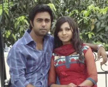 Ziaul Faruq Apurba with Sadia Jahan Prova