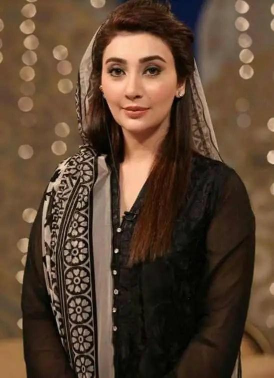 Ayesha Khan Black Dress Image