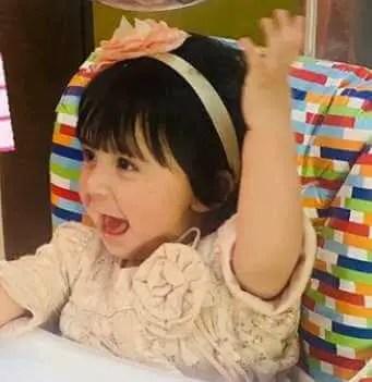 Ayesha Khan's Daughter Image