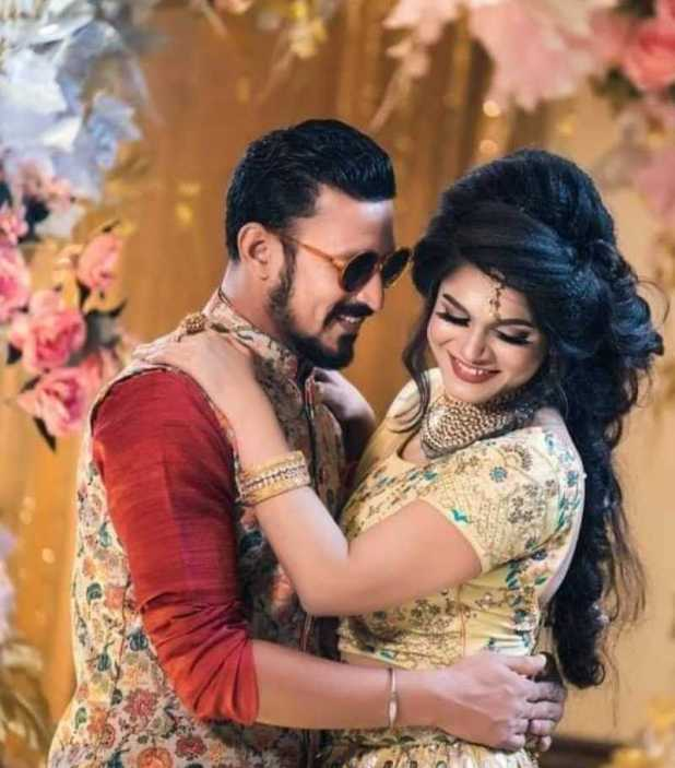 Nasir Hossain and Tamima Tammi wedding photo