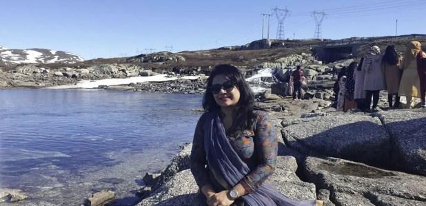 Helena Jahangir recent picture