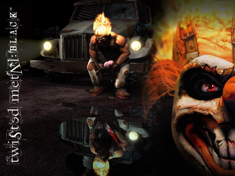 Hd Wallpapers Developer Twisted Metal Black Wallpapers Ps2 Ign