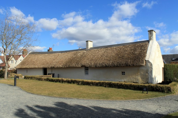 Burns Cottage in Alloway, Ayrshire