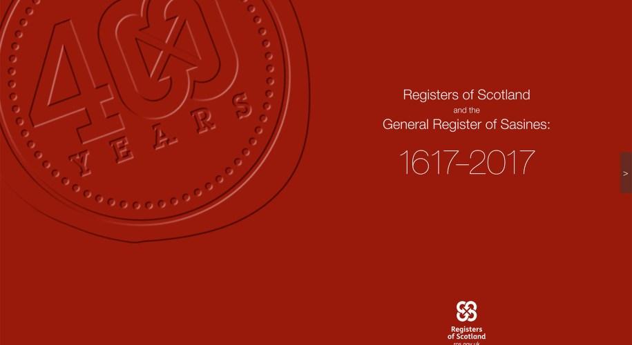 400th anniversary commemorative booklet cover