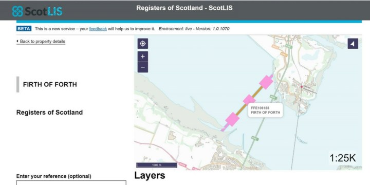 Queensferry Ferry Crossing - ScotLIS image