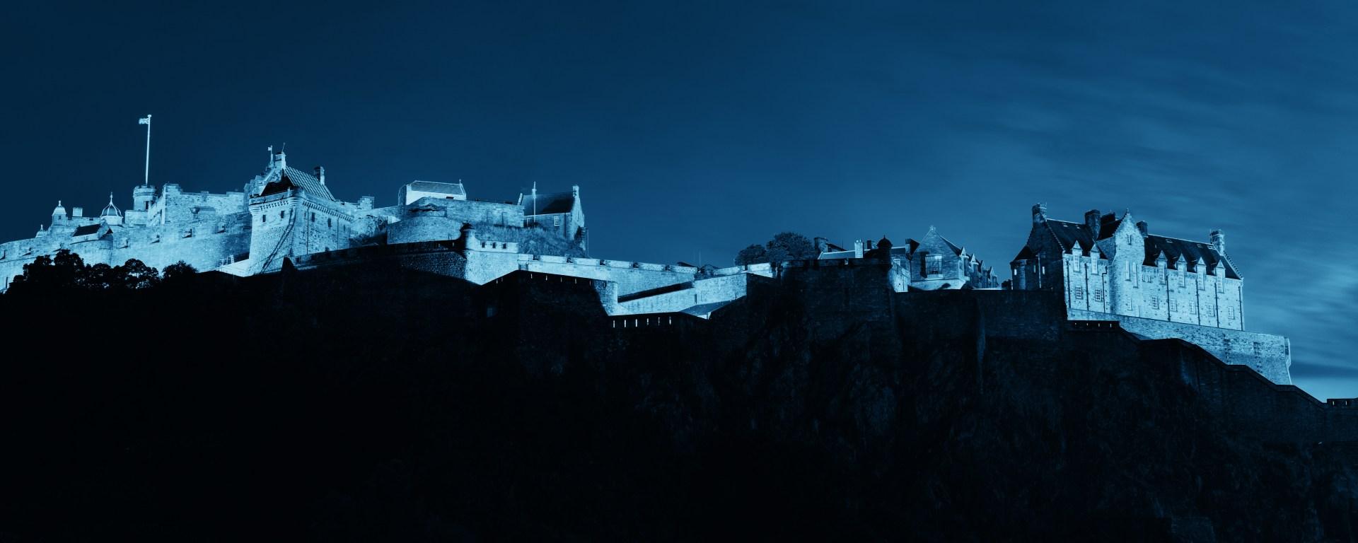 edited image of Edinburgh Castle