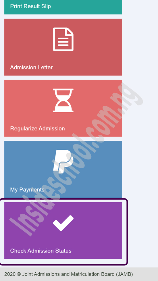 jamb cap mobile admission - JAMB CAPS Portal 2021: How to ACCEPT or REJECT Admission Offer