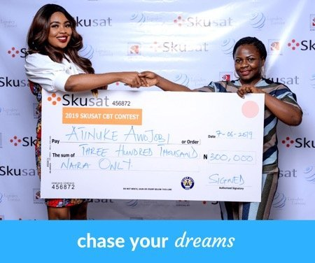 N300,000 Cash Up for Grab At The Skusat Aspire CBT Contest