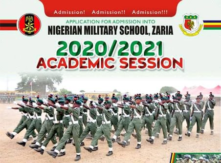How to Apply For Nigerian Military School (NMS), Zaria Admission Form