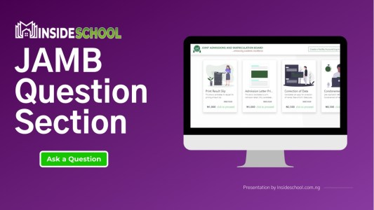 JAMB Question Section - JAMB Question
