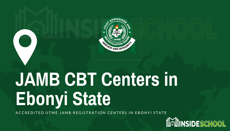 JAMB Accredited CBT Centres in Ebonyi State - JAMB Accredited CBT Centres in Ebonyi State for UTME Registration