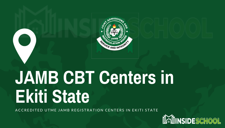 JAMB Accredited CBT Centres in Ekiti State - JAMB Accredited CBT Centres in Ekiti State for UTME Registration