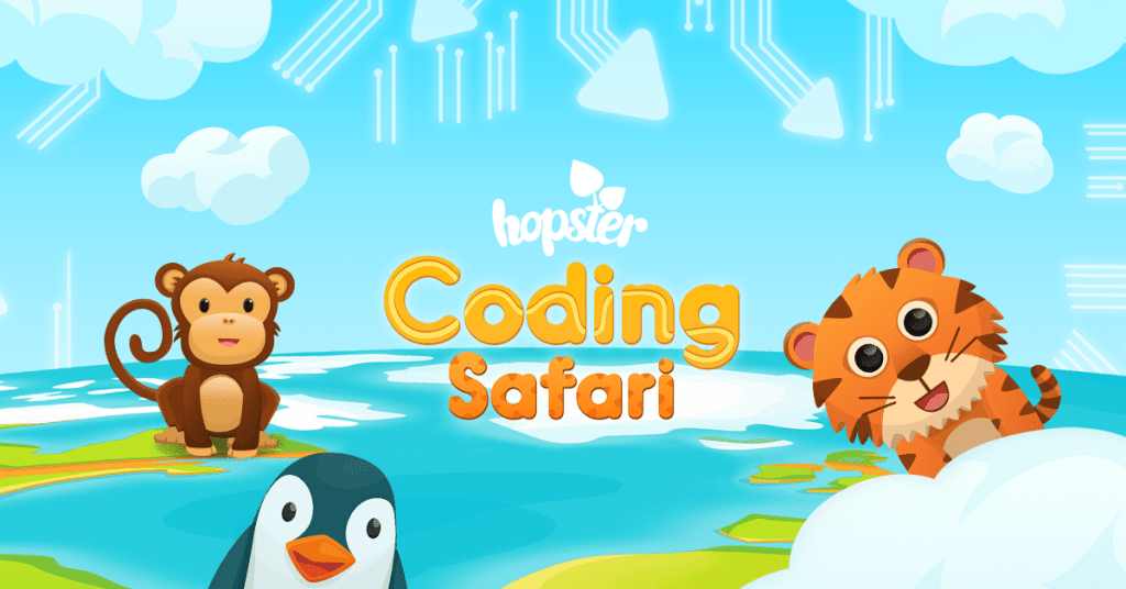 Hopster Coding Safari 1024x536 - Top 20+ Best Coding Apps for Kids and Teenagers [Free/ Paid]