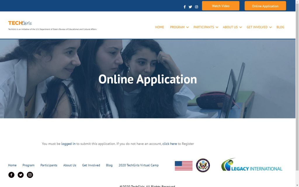 TechGirls 2021 Application 1024x640 - TechGirls Program 2021 Application (Fully-funded to the USA)