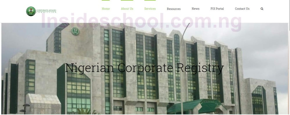 CAC Registration Portal Login - Corporate Affairs Commission (CAC) Registration Portal Login 2021/2022 and How to Register a Business Name on CAC Portal
