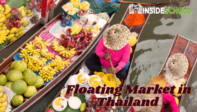 Floating Market in Thailand  - Top 10 Most Visited Countries in the World 2021 (And How to Visit Them)