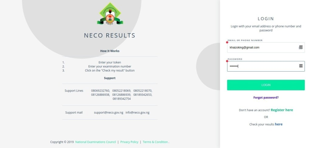 image 2 1024x490 - How to Purchase NECO Result Checker Token | SSCE & BECE