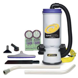 ProTeam Commercial Backpack Vacuum with HEPA Media Filtration